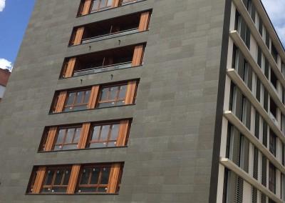 Absolute black basalt - facade