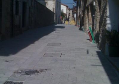 Caliza Gris Ceniza Abujardada - Pavimentación