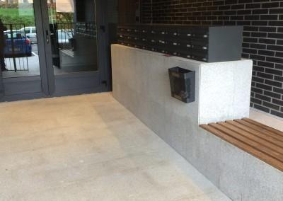 G 603 Flamed Granite - Portal