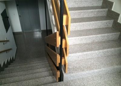 G 603 Polished Granite - Stairway