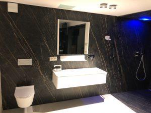 porcelanico laminan en baño